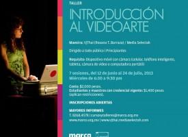 TALLER Introducción al Video arte. Museo MARCO.