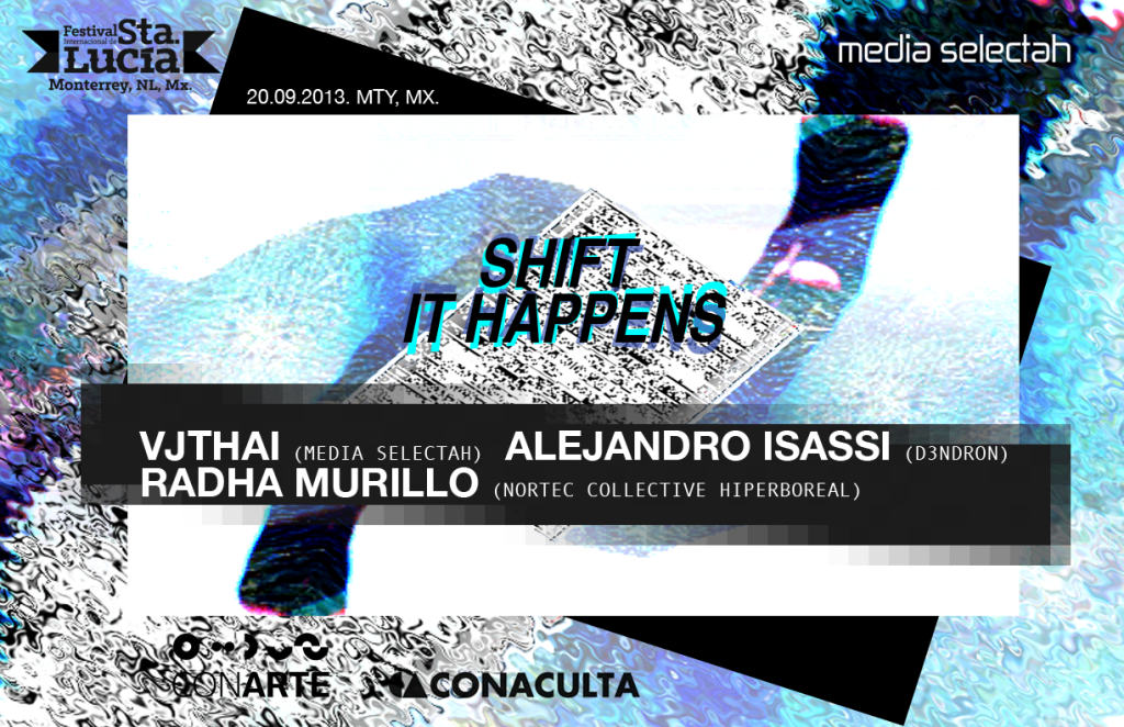 Shift it happens flyer mix copy