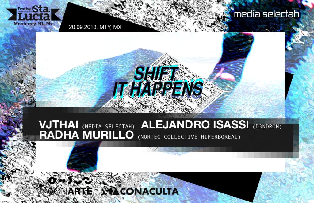 Shift it happens flyer mix copy